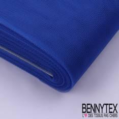 Tissu Tulle Rigide Uni Couleur Bleu Roi