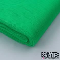 Tissu Tulle Rigide Uni Couleur Vert Gazon Fluo