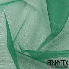 Tissu Tulle Rigide Uni Couleur Vert Sapin