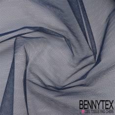 Tissu Tulle Rigide Uni Couleur Bleu Marine