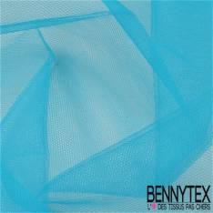 Tissu Tulle Rigide Uni Couleur Turquoise