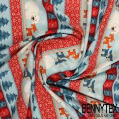 Jersey Coton Imprimé Modèle EYKO Motif Fêtes