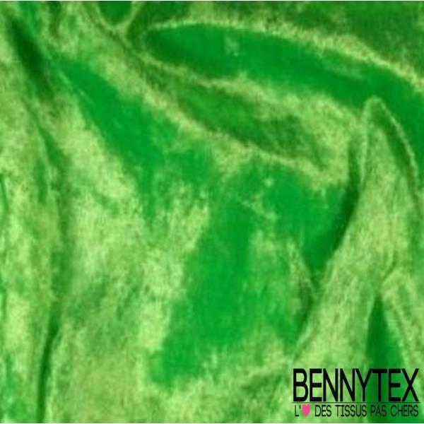 Panne de Velours Vert Anis