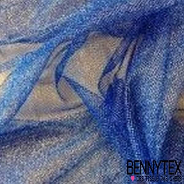 Tulle Lurex Bleu