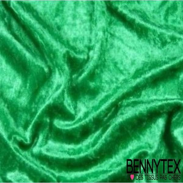 Panne de Velours Vert Bouteille