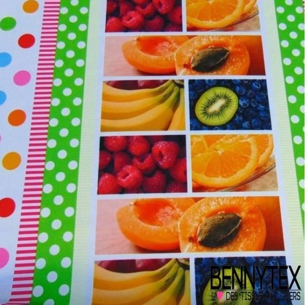 Polyester Imprimé Fruits pour Nappe