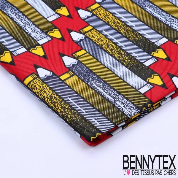 Wax Africain N°103 : Crayon