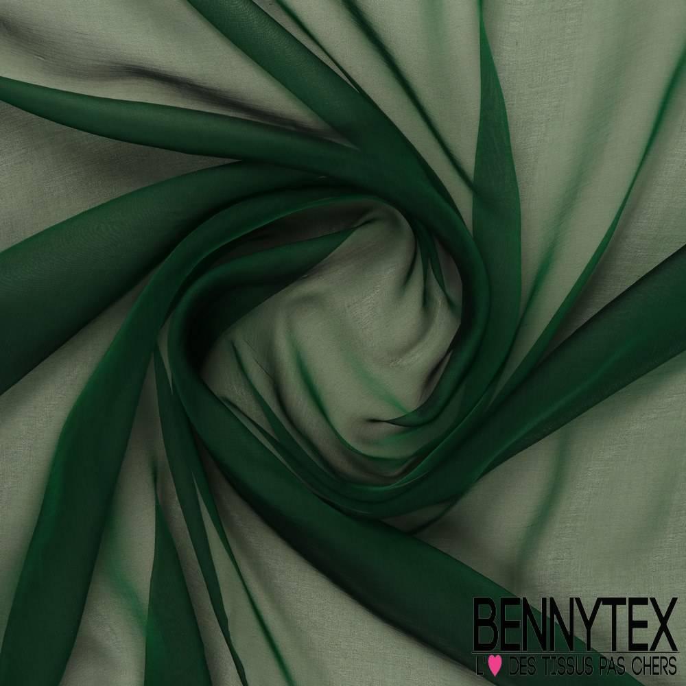 Mousseline de soie vert sapin iris e bennytex vente de tissus pas cher au m tre - Sapin artificiel vert pas cher ...