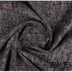 Brocart Lamé Brillant Multicolore effet chiné gris /blanc