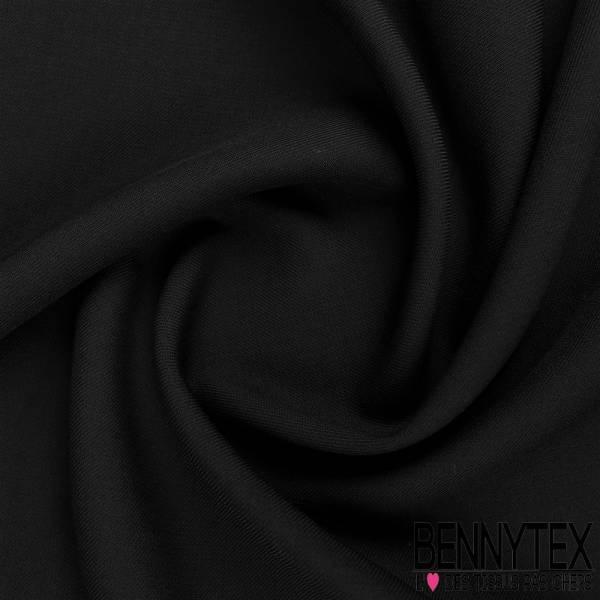 Gabardine Sergé Polyester viscose couleur marine