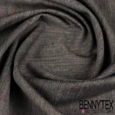 Laine costume effet chiné gris anthracite