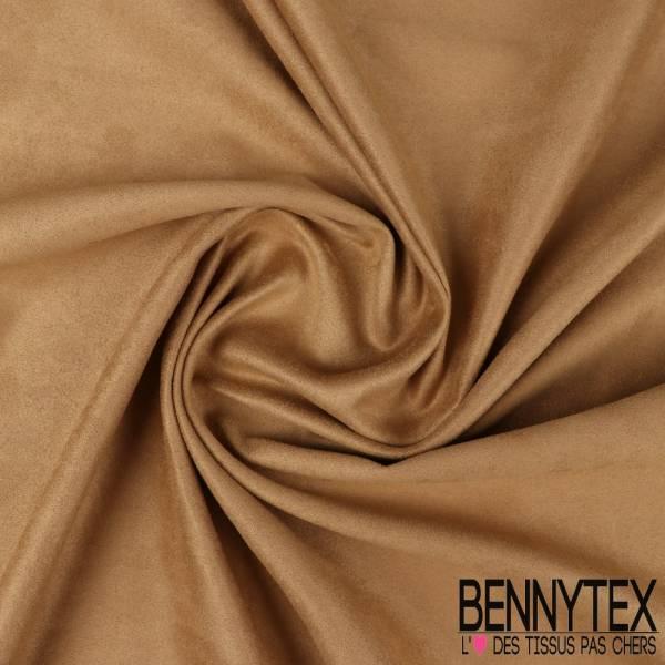 Jersey suedine polyester couleur vénitien