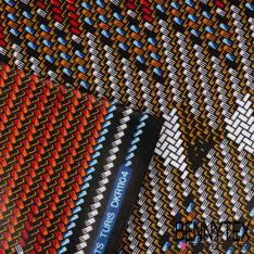 Wax Africain N°176: Motifs Imprimés Pyjama Multicolores
