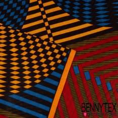 Wax Africain N°186: Motif