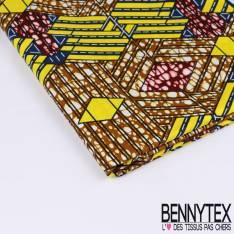 Wax Africain N°188: Motif