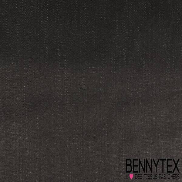 Denim Jeans Coton Huilé coloris Noir