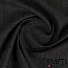 Tissu Denim Jeans Cergé Coloris Noir