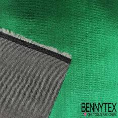 Denim Jeans Cergé Laqué Vert Sapin Métallisé