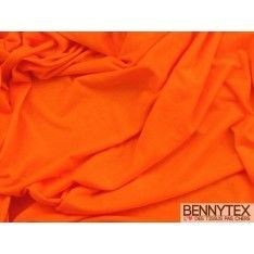 Jersey Polyester Orange Fluo