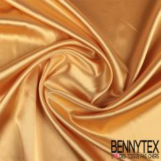 Satin Polyester Jaune Or