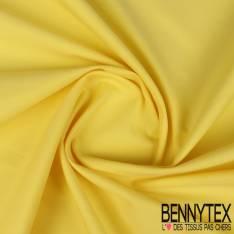 Gabardine Coton Polyester Citron