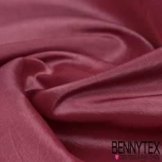 Coupon Taffetas Lisse Polyester Couleur Rose Balais