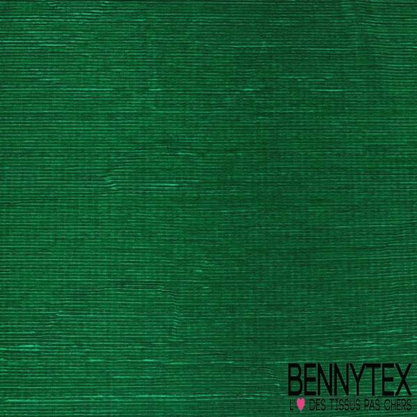 Plissé Soleil Polyester Vert Lamé Vert