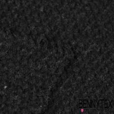 Laine Tricotée Coloris Noir