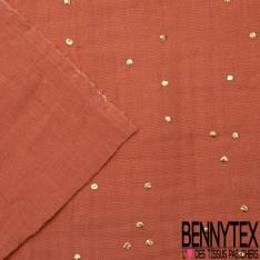 Coton Double Gaze Masala Pastille Relief Or