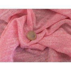 Jersey Polyester Viscose Rose