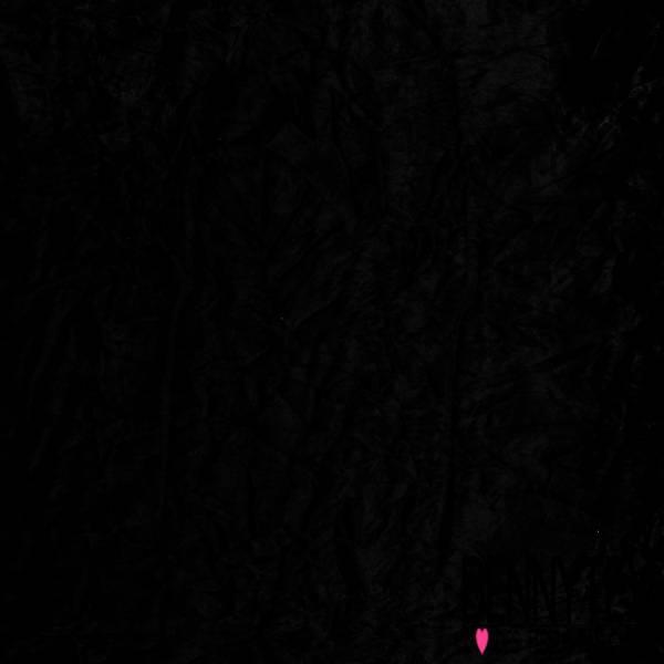 Panne de Velours Velvet Froissé Noir