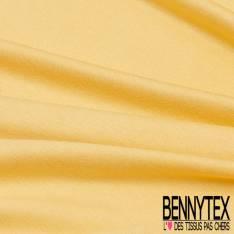 Jersey Viscose Uni couleur Jaune Pastel