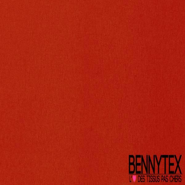 Jersey Viscose Uni couleur Brique
