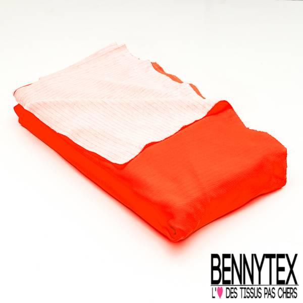 ac627727163d Maille Piqué Coton Orange Fluo   Bennytex vente de tissus pas cher ...