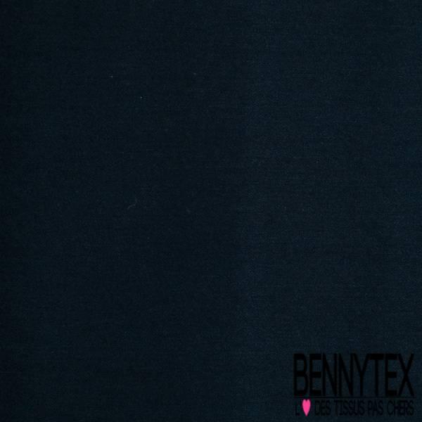 Crêpe Polyamide Polyester Elasthanne Fluide Noir