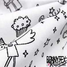 Coton à colorier Lavable L'Anniversaire et Réutilisable à l'infini