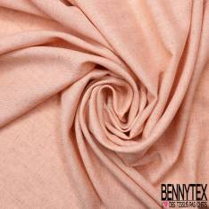 Lin Polyester Rose Saumon