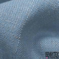 Lin Polyester Bleu Layette