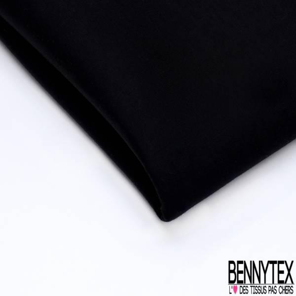 Néoprène Double Face Noir Coton
