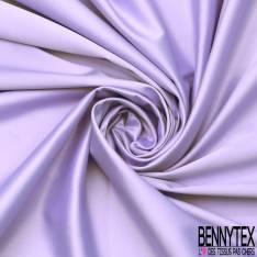 Satin Coton Polyester Élasthanne Couleur Parme