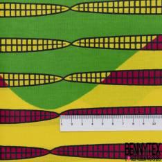 Wax Africain N° 576: Motif Abstrait Multicolore