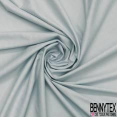 Coton Elasthanne effet Quadrillage Fantaisie ton sur ton Bleu Pastel