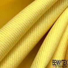 Toile de Coton Polyester Sergé Citron