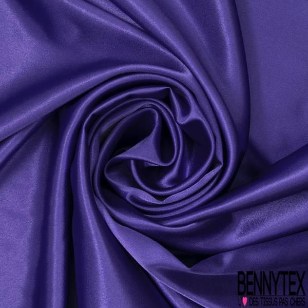 Satin Polyester Elasthanne Violet