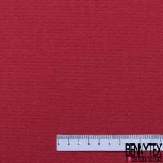Crêpe Viscose Gaufrée Rouge