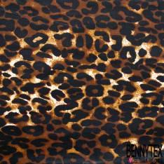 Wax Africain N° 673: Motif Léopard