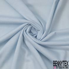 Jersey Viscose Uni Fluide Bleu Glacé