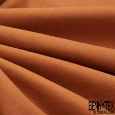 Jersey Coton Uni Roux