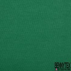 Jersey Coton Uni Vert Gazon