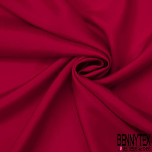 Pongée de Soie (100% Soie) - Rouge